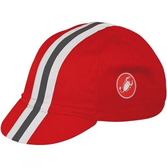 Castelli Retro 2 Cap Red