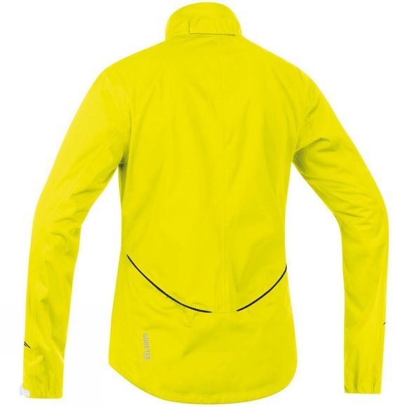 Gore Bikewear Element Women's Gore Tex Waterproof Jacket Neon Yellow/White