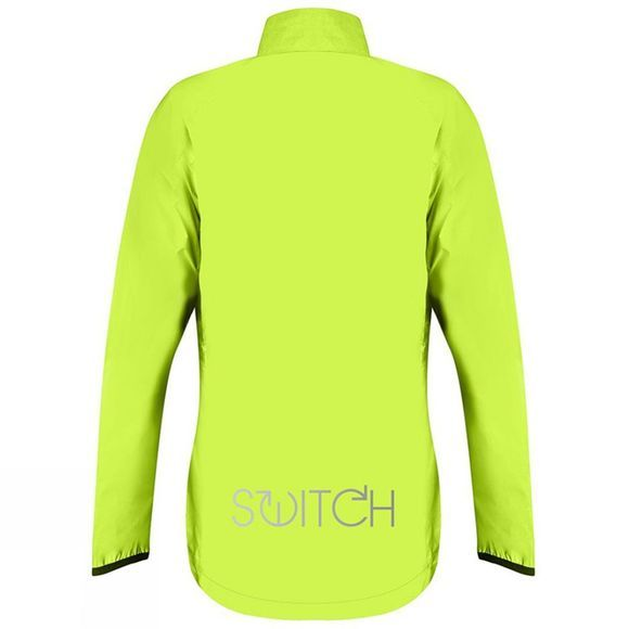 Proviz Womens Switch Waterproof Reflective Reversible Jacket Yellow