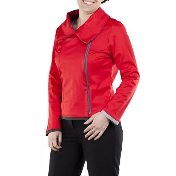 Water Off a Duck's Back Tessa Waterproof Women's Jacket Red