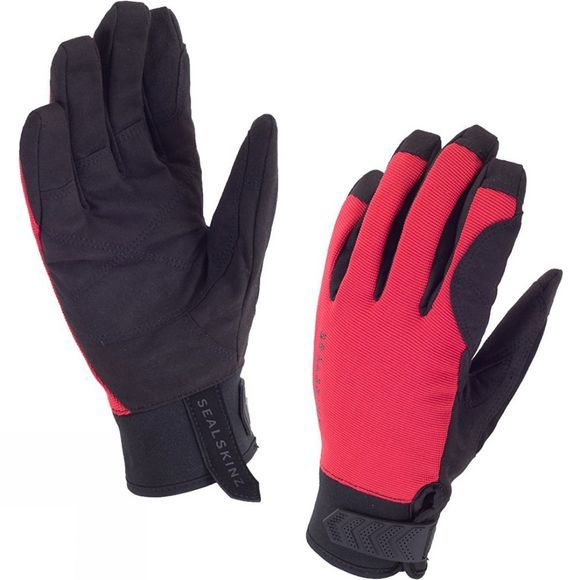 SealSkinz Men's Dragon Eye Road Gloves Black/Red
