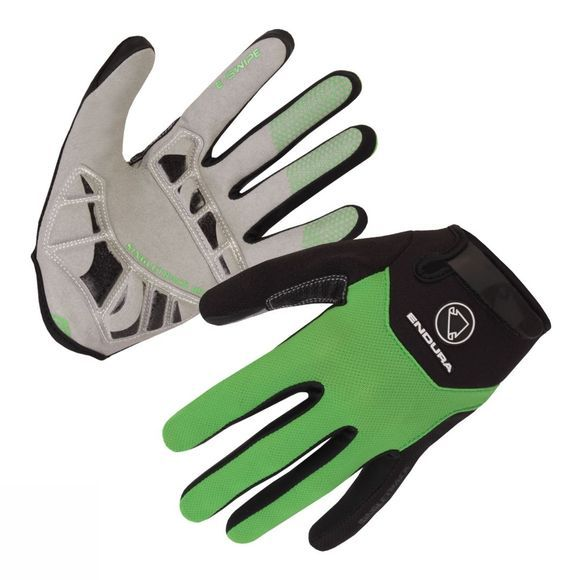 Endura SingleTrack Plus Gloves Kelly Green
