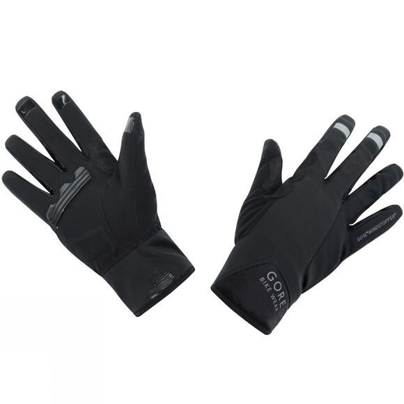 Gore Bikewear POWER GORE® WINDSTOPPER®  Gloves Black
