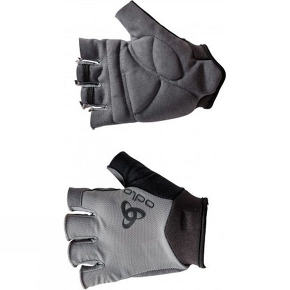 Odlo Short Active Gloves Black/Odlo Grey