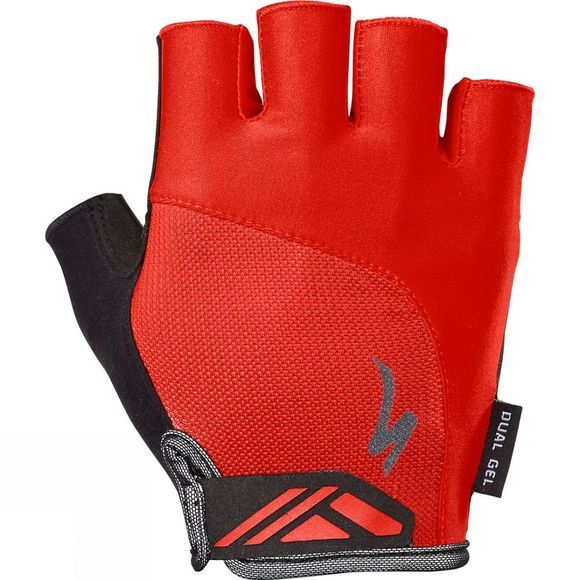 Specialized Body Geometry Dual-Gel Mitt Red/ Black
