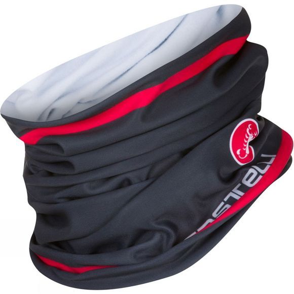 Castelli Arrivo 2 Thermo Headthingy Anthracite / red