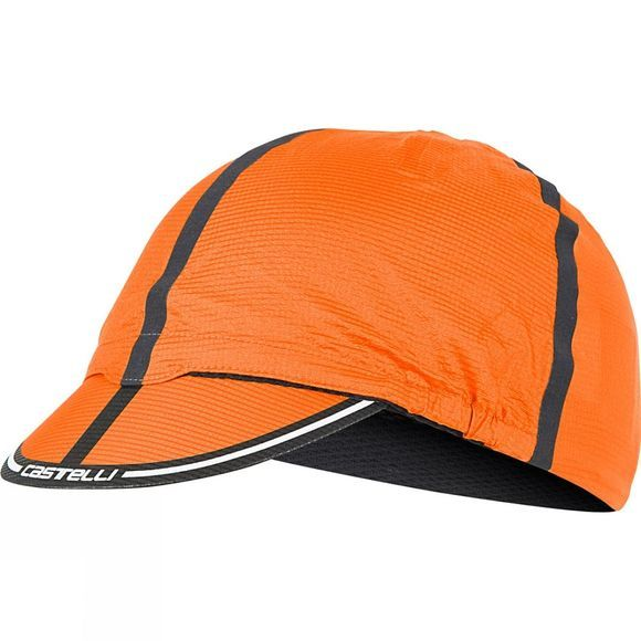 Castelli Mens RoS Cycling Cap Orange