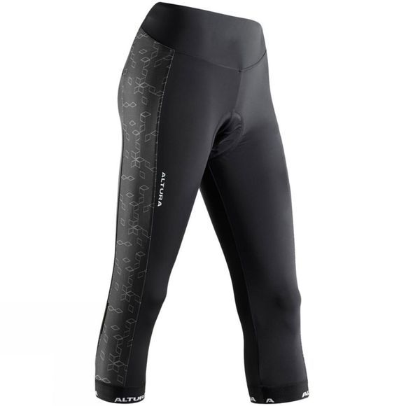 Altura Altura Peloton 3/4 Progel Womens Tight Black