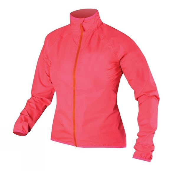 Endura Women's Xtract Jacket Hi-Viz Pink