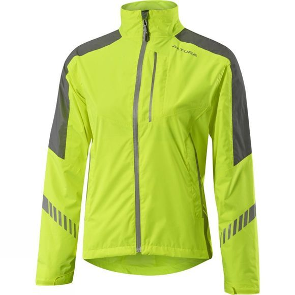 Altura Womens Nightvision 3 Waterproof Jacket Hi Viz Yellow