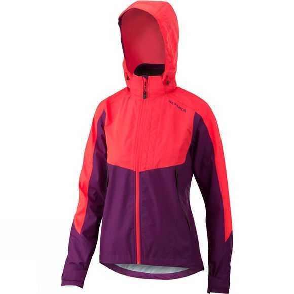 Altura Womens Nightvision Thunderstorm Jacket Pink