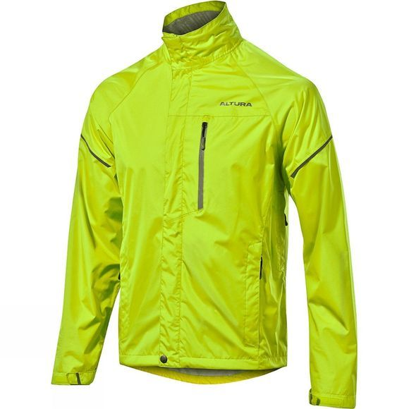 Altura Womens Nevis Waterproof Jacket Hi Viz Yellow