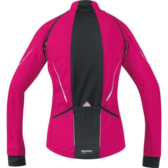 Gore Bikewear Womens Phantom Lady GWS Zip-Off Jacket Pink/Black