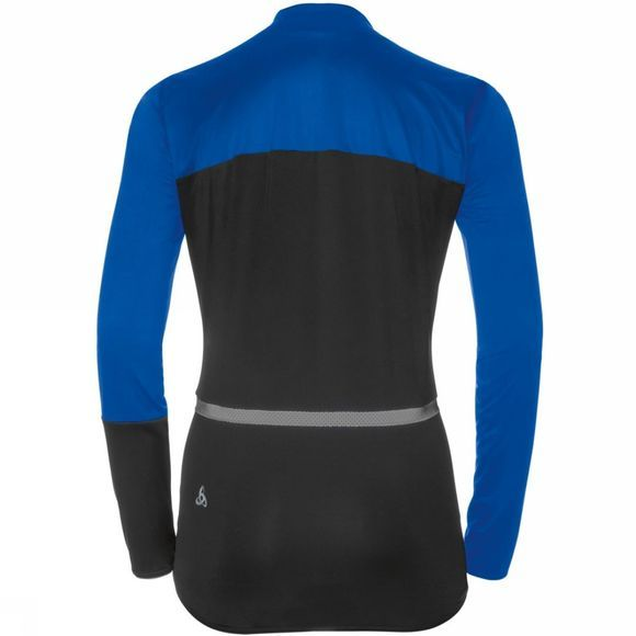 Odlo Womens Mistral Logic Jacket Lapis Blue - Black
