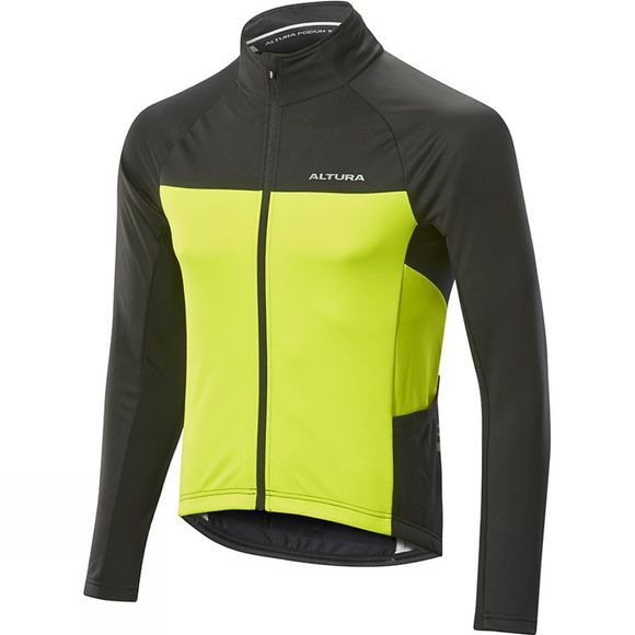 Altura Womens Podium Elite Thermo Shield Jacket High Visibility Yellow/ Black