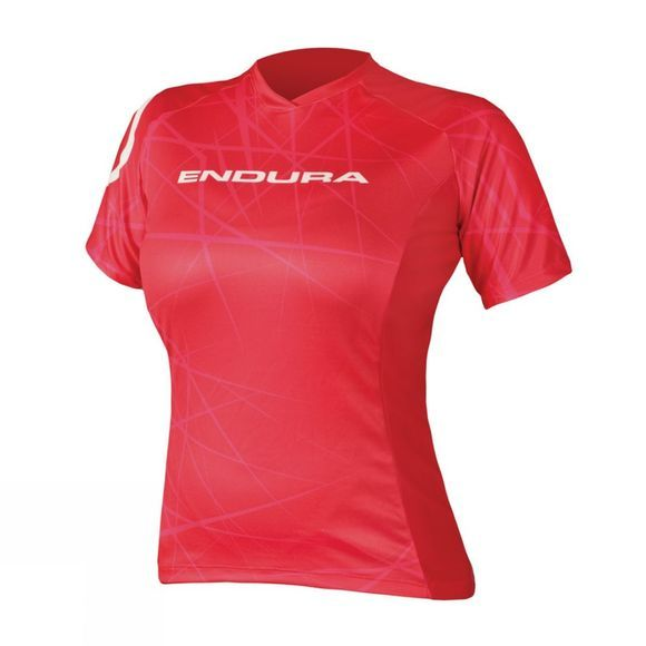 Endura Women's SingleTrack Tee Red