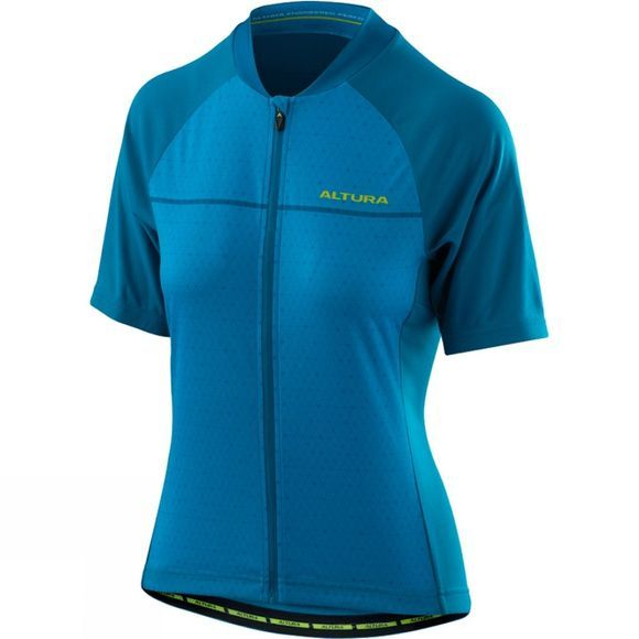 Altura Womens Airstream 2 Short Sleeve Jersey Vivid Blue/Tile Blue