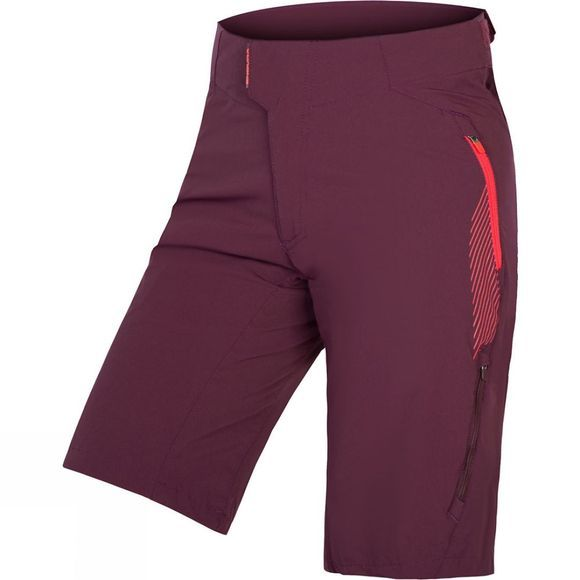 Endura Women's SingleTrack Lite Shorts II Mulberry