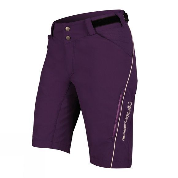 Endura Women's SingleTrack Lite Shorts Purple