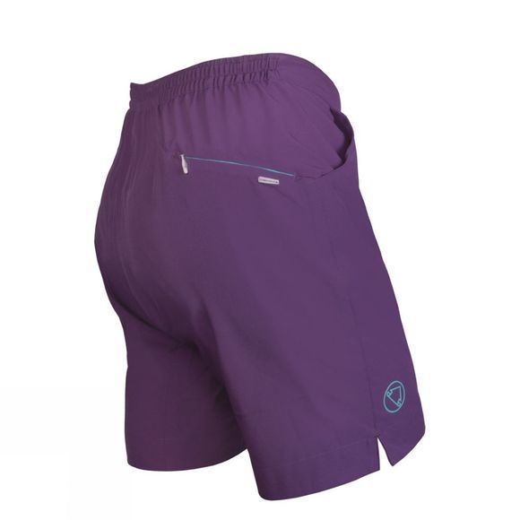 Endura Womens Trekkit Padded Shorts Purple
