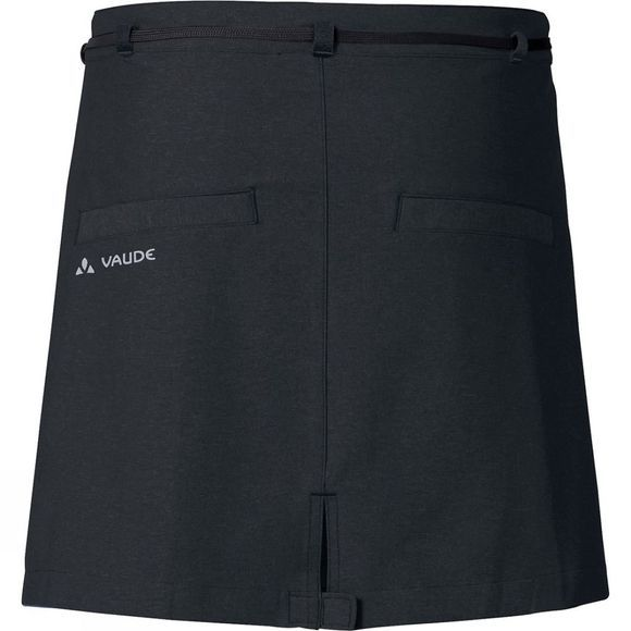 Vaude Womens Tremalzo Cycling Skirt II Black
