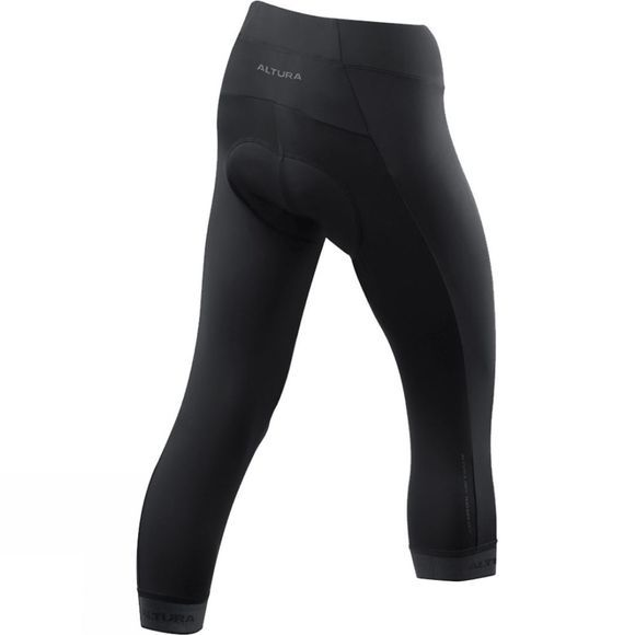Altura Womens Progel 3 3/4 Tight Black