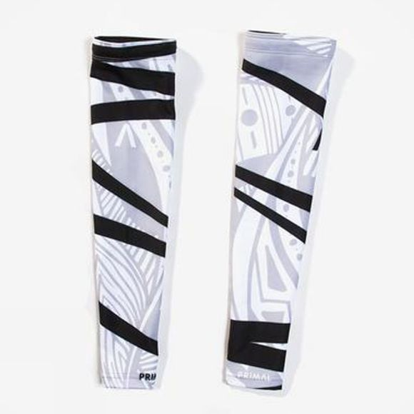 Primal Fringe Couture Arm Warmers White/Black