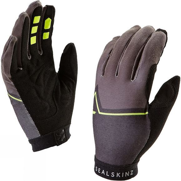 SealSkinz Womens Galibier Gloves Yellow/Black/Charcoal