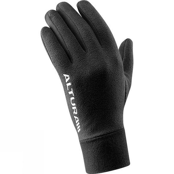 Altura Womens Microfleece Windproof Glove black