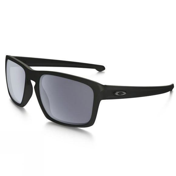 Oakley Unisex Silver Glasses Black          /Mid Grey