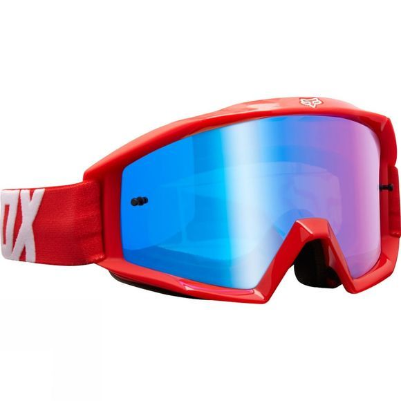 Fox Clothing  Main Race Goggles red & white