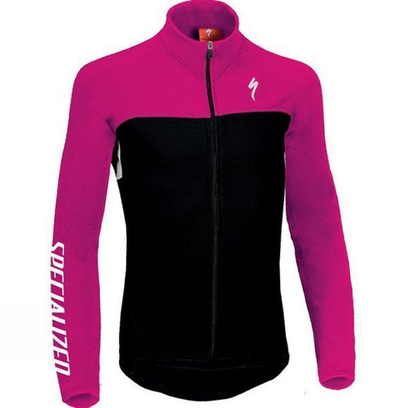 Specialized Childrens RBX Sport Long Sleeved Jersey Black          /Mid Pink
