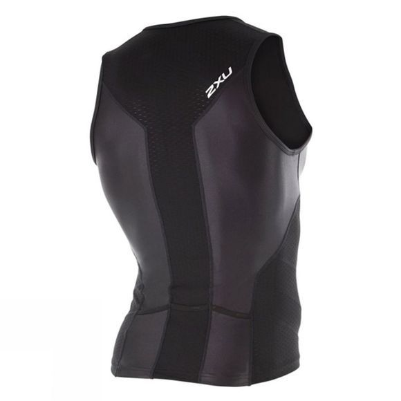 2XU Men's X-VENT Tri Singlet Black