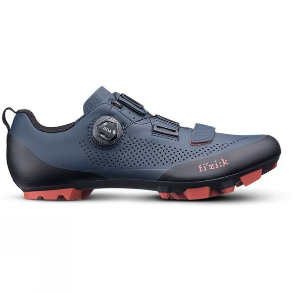 Fizik Unisex Terra X5 MTB Shoe Blue/Red