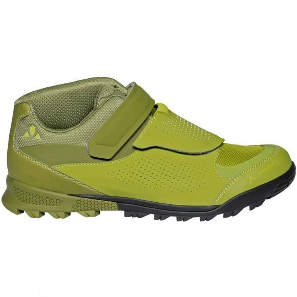 Vaude Mens AM Downieville Mid Shoe Holly Green/Green Pepper