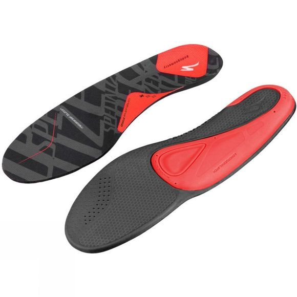 Specialized Body Geometry SL Footbed Red