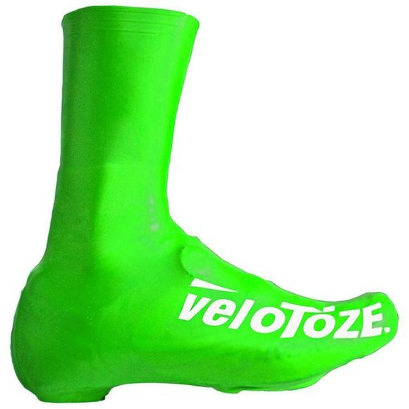 Velotoze Waterproof Aero Tall Overshoe Green