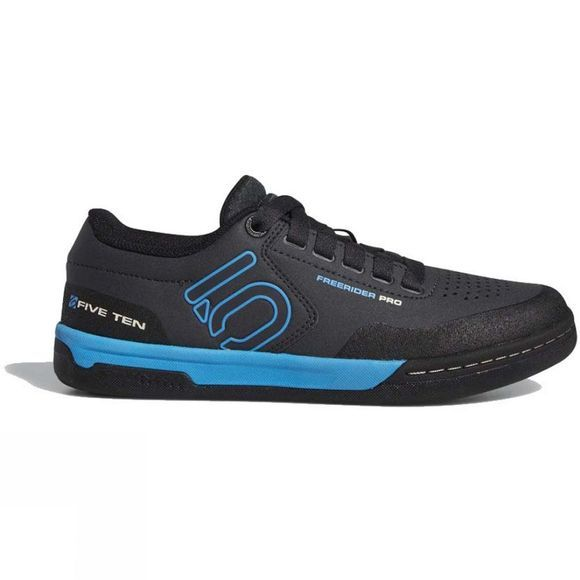 5.10 Womens Freerider Pro Shoes Carbon/Shock Cyan/Core Black