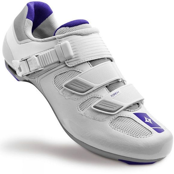 Specialized Womens Torch Road Shoe White          /Purple