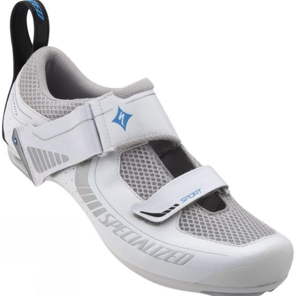 Specialized Womens Trivent Sport Road Shoe White          /Silver