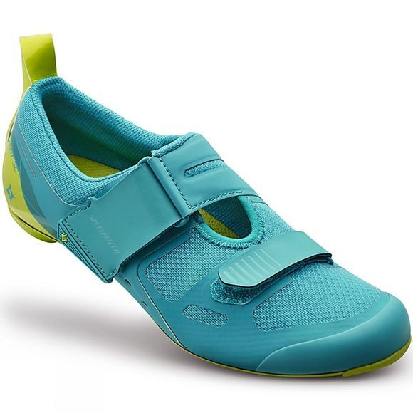 Specialized Womens Trivent SC Shoe Turquoise/Hyper Green