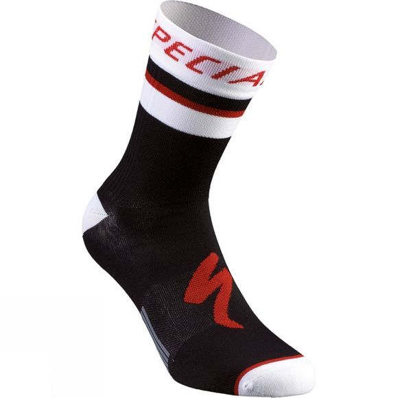 Specialized RBX Comp Logo Summer Sock Black/ White