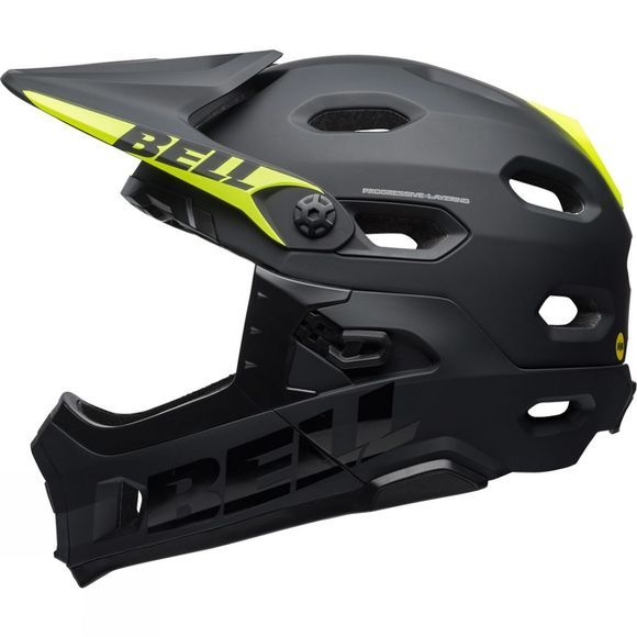Bell Super DH MIPS-Equipped MATT/GLOSS BLACK