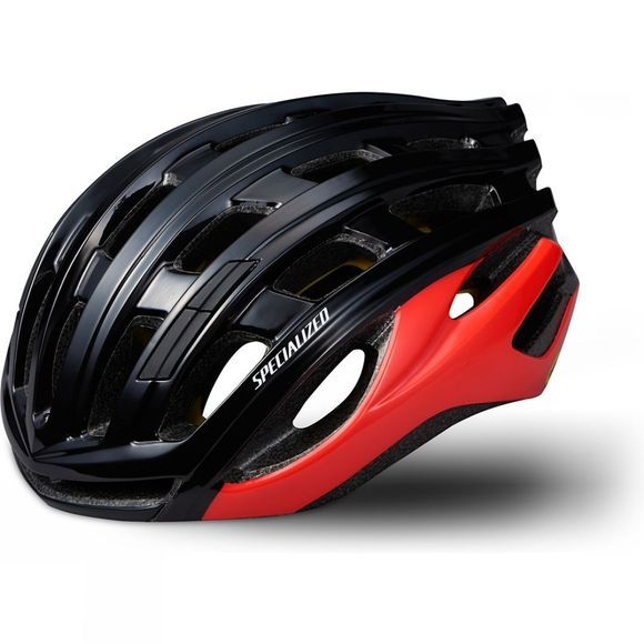 Specialized Propero 3 MIPS Helmet w/ ANGI Black/Rocket Red