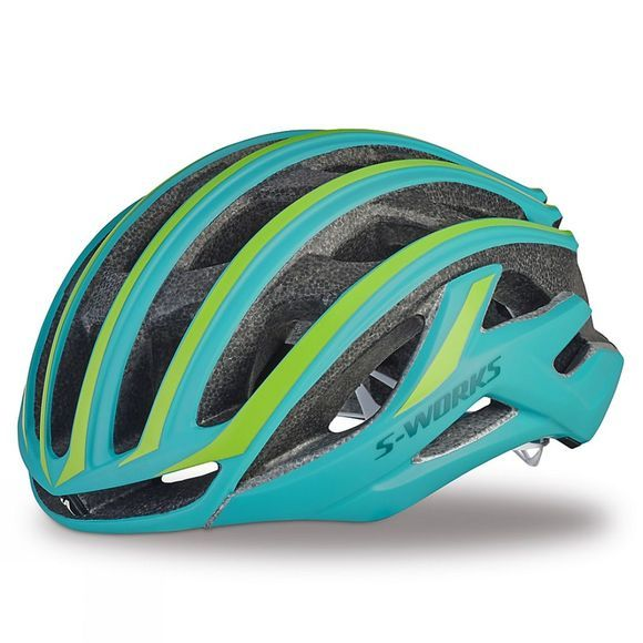 Specialized S-Works Womens Prevail Helmet Turquoise/Green