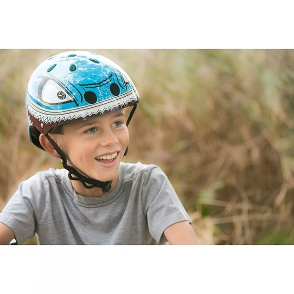 Hornit Kids Mini Hornit Shark Helmet Blue/ Shark