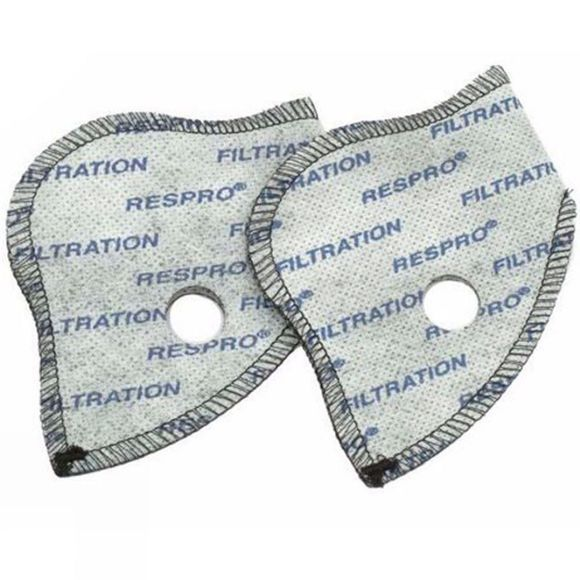 Respro City Pollution Mask Filters (Pack Of 2) No Colour