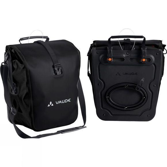 Vaude Bags Panniers Aqua Front  Black 28 Litres