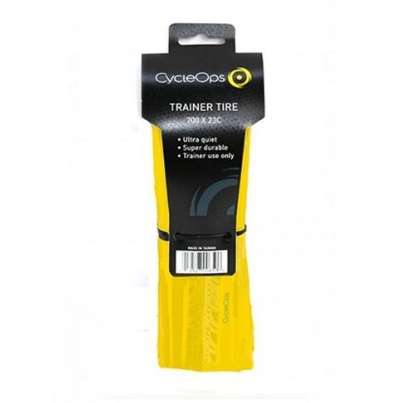 Cycleops Home Trainer Tyre Yellow
