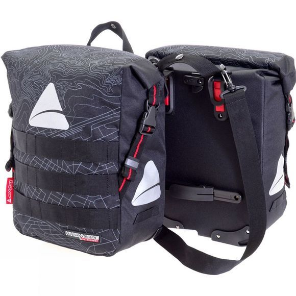Axiom Monsoon Hydracore 45+ Pannier Set Black